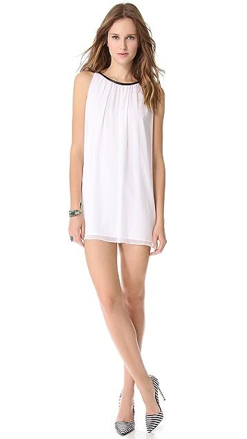 alice + olivia Genae Drape Dress