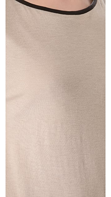 alice + olivia Cale Asymmetrical Top