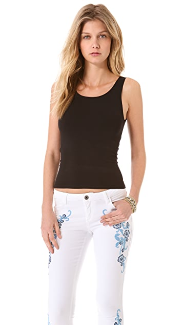 alice + olivia Tubular Sleeveless Top