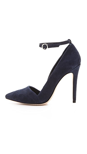 alice + olivia Diana Ankle Strap Pumps