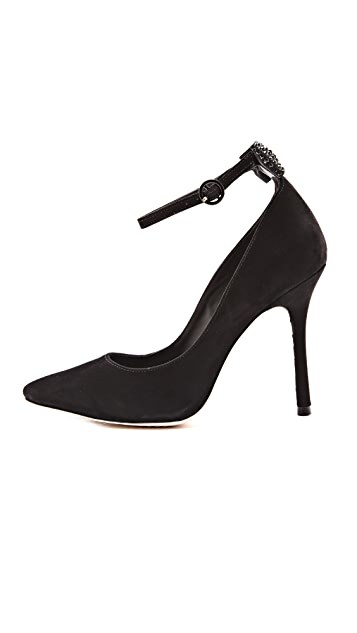 alice + olivia Dita Pumps with Ankle Strap