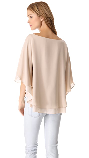 alice + olivia Hampton Tunic Top