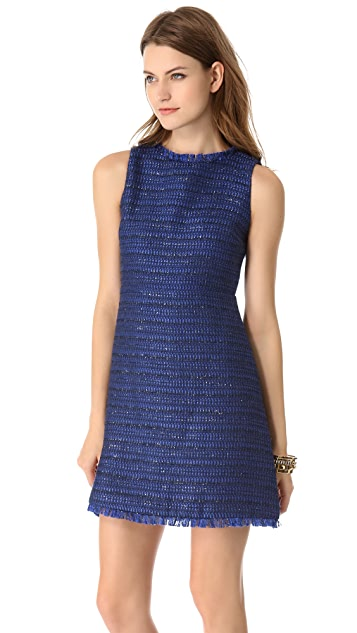 alice + olivia Stari Open Back Dress