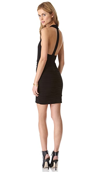 alice + olivia Elaina T Back Dress