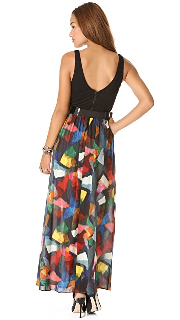 alice + olivia Kell Tank Dress
