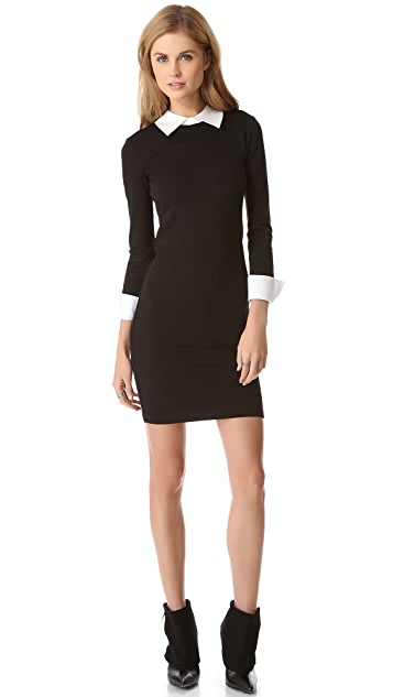 alice + olivia Courtnee Combo Cuff Dress