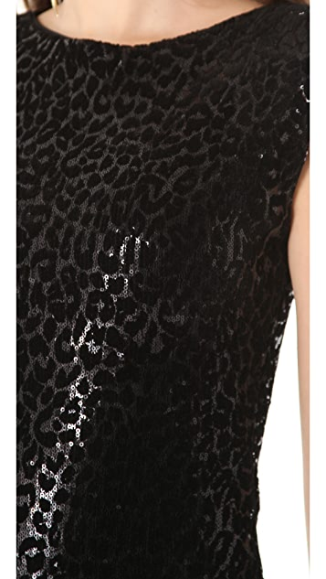 alice + olivia Frankie Sequin Dress