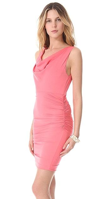 alice + olivia Esme Ruched Dress