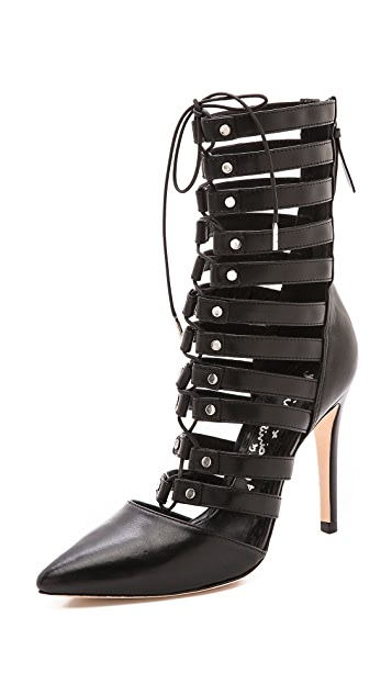 alice + olivia Diona Cutout Booties