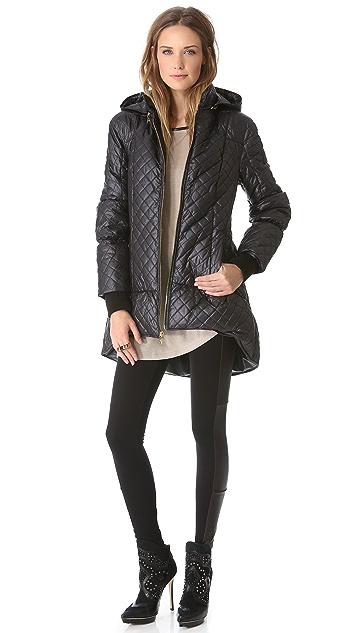 alice + olivia Hooded Puffer Jacket