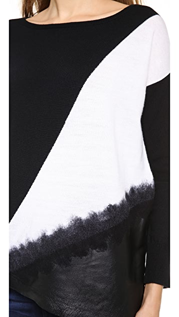 alice + olivia Jacoby Asymmetrical Top