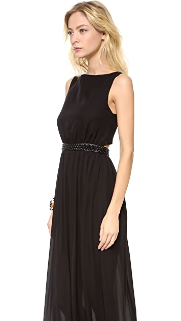 alice + olivia Yvette Studded Dress