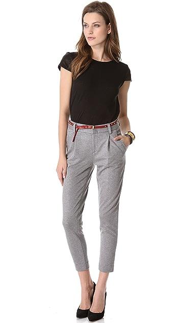 alice + olivia Cropped Skinny Pants