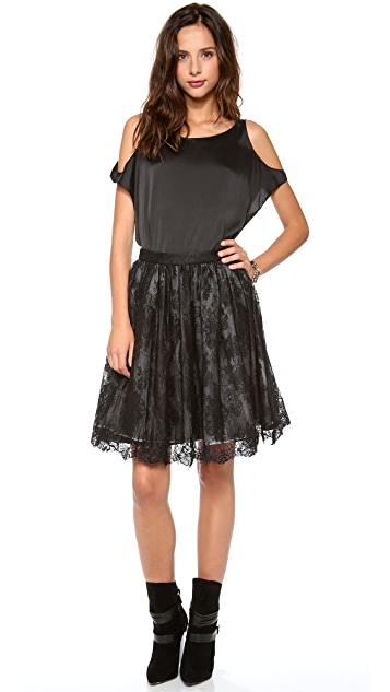 alice + olivia Chiara Extra Full Flare Skirt
