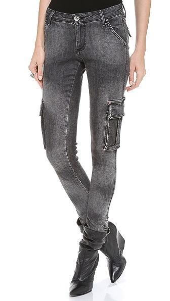 alice + olivia Cargo Skinny Jeans