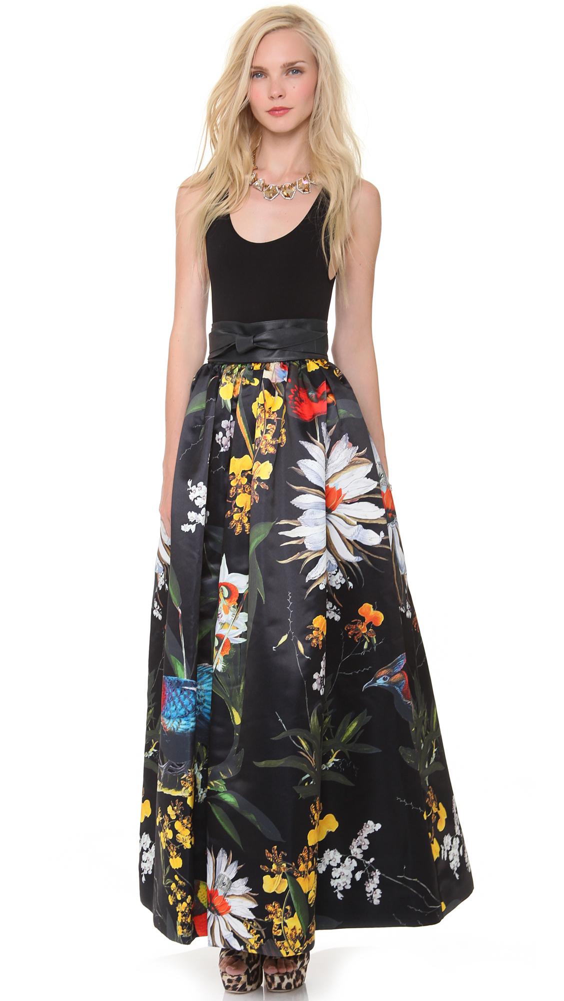 alice + olivia Tina Ball Gown Skirt | SHOPBOP