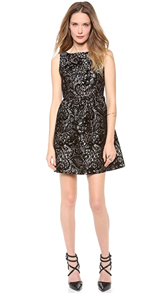alice + olivia Lillyanne Puff Mini Dress