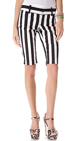 alice + olivia 5 Pocket Cuffed Shorts