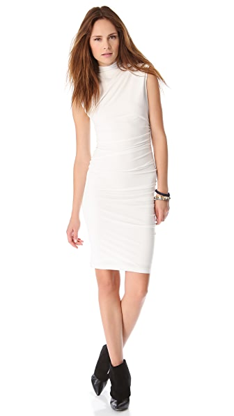 alice + olivia Lynley Turtleneck Dress