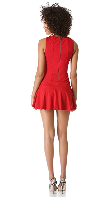 alice + olivia Kaya Drop Waist Dress