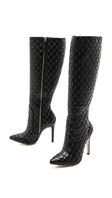 alice + olivia Ophelia Wedge Boots