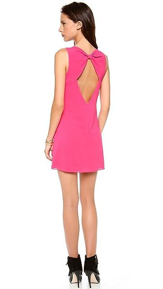 alice + olivia Bow Back Trina Dress