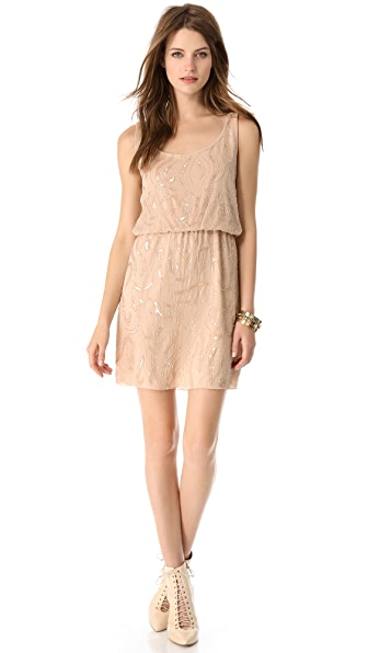 alice + olivia Bo Beaded Dress