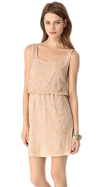 alice + olivia Bo Beaded Dress