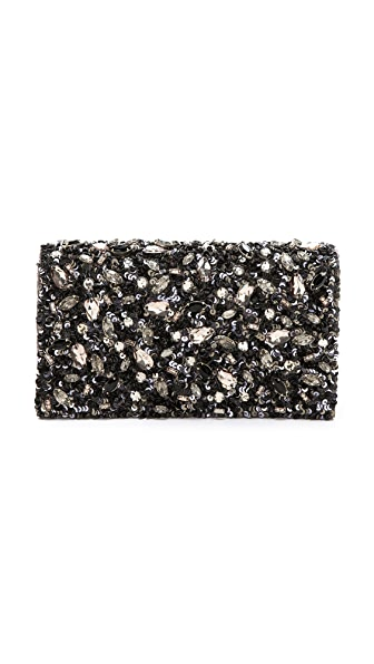 alice + olivia Be Jeweled Clutch