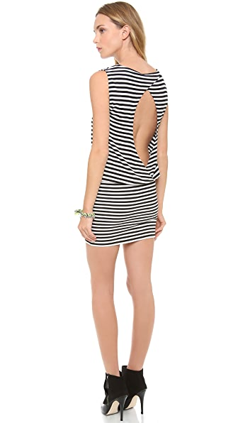 alice + olivia Maryanne Keyhole Back Dress