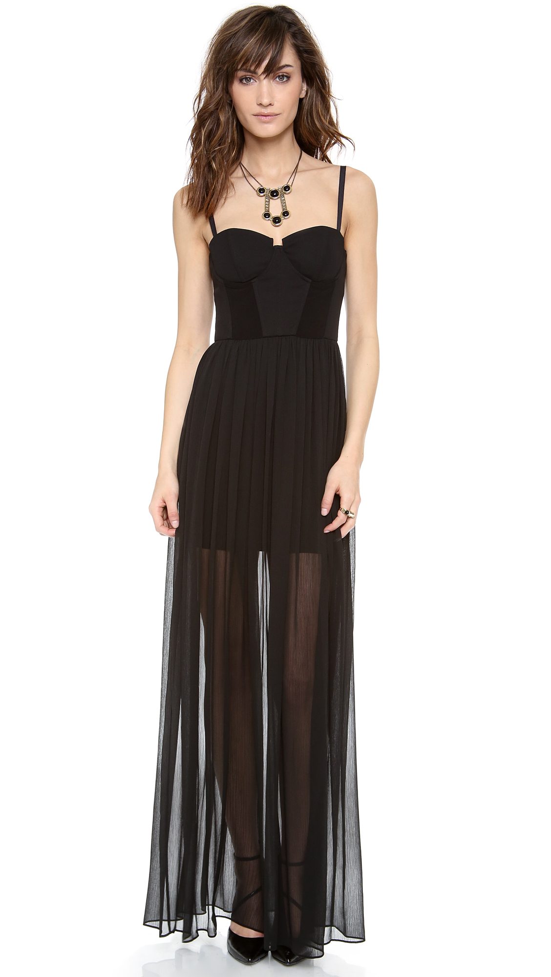 alice + olivia Shakira Bustier Maxi Dress | SHOPBOP