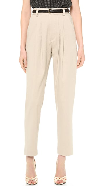 alice + olivia High Waisted Tapered Pants