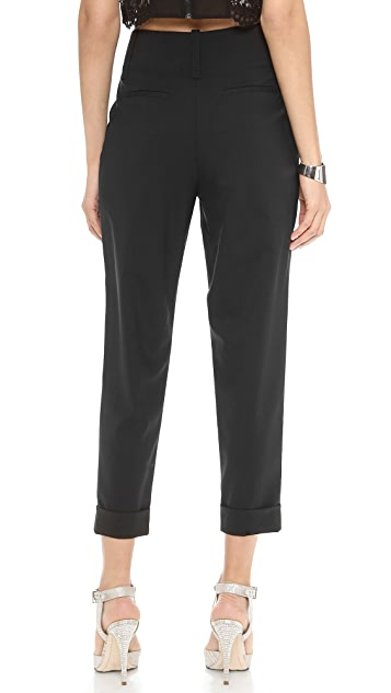 alice + olivia High Waisted Anders Pants
