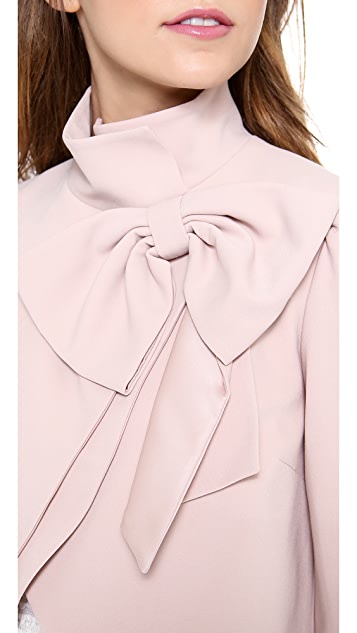 alice + olivia Addison Bow Jacket