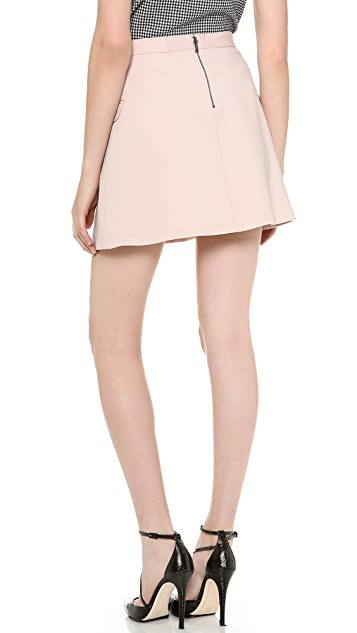 alice + olivia Tabby High Waisted Skirt