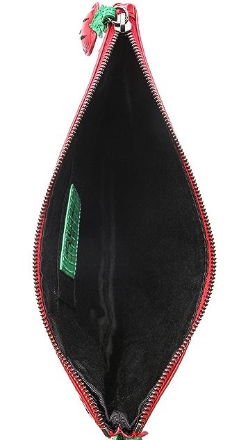 alice + olivia Strawberry Clutch