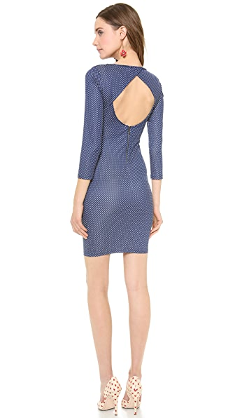 alice + olivia Kal Open Back Dress