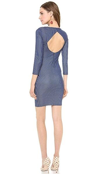 alice + olivia Kal Open Back Dress