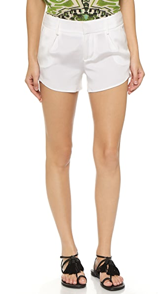 Alice + Olivia Butterfly Shorts - White