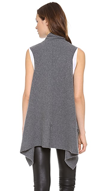 alice + olivia Ribbed Vest