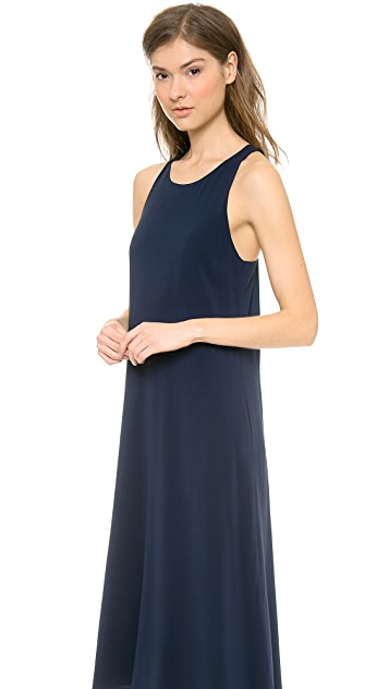 alice + olivia Back Twist Kyhl High Low Dress