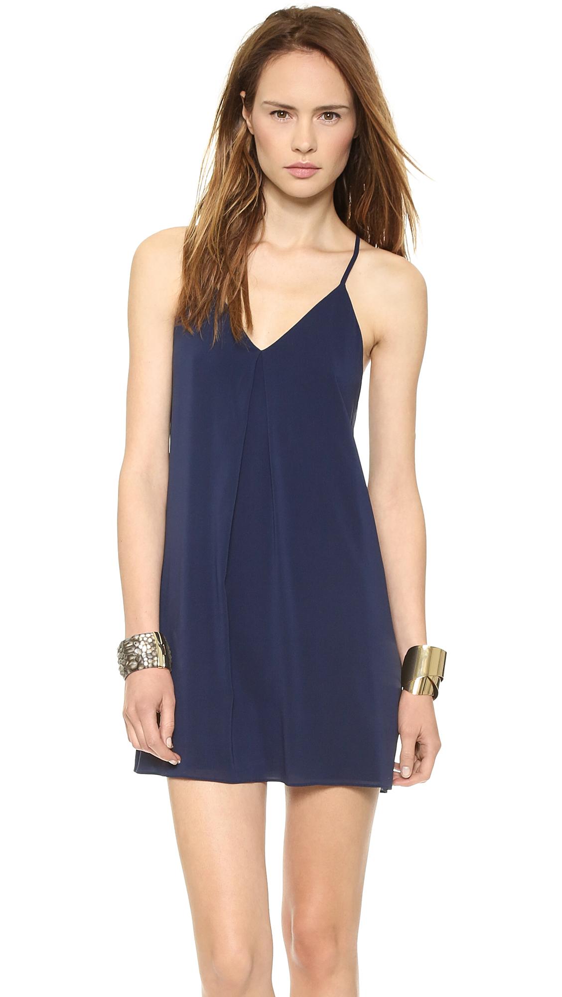 Alice + Olivia Fierra Dress - Navy at Shopbop