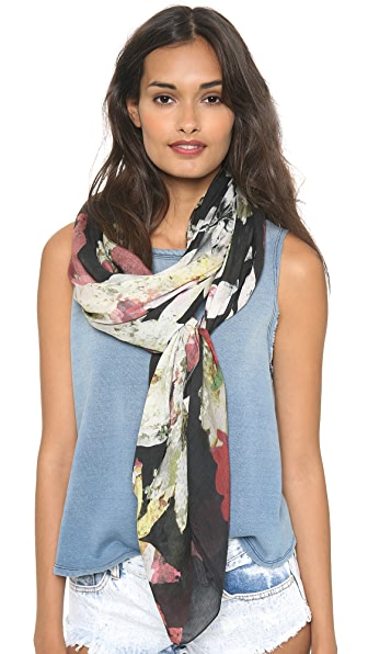 alice + olivia Lightweight Long Printed Scarf