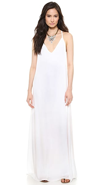 alice + olivia Dove Relaxed Maxi Dress