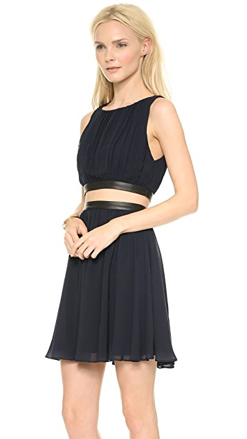 alice + olivia Winny Gathered Dress