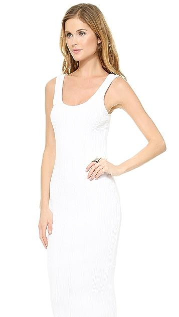 alice + olivia Peonie Stretch Scoop Knit Dress