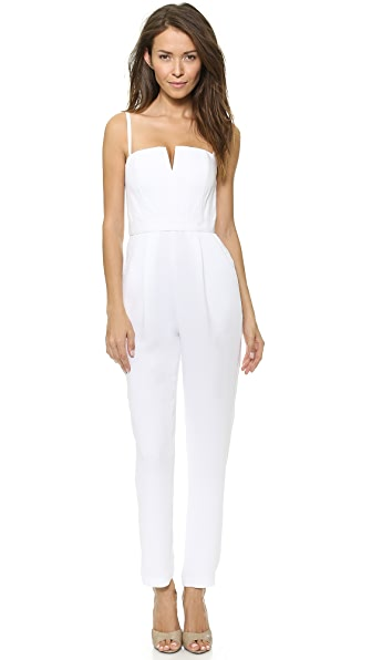 alice + olivia Tank Pleat Jumpsuit