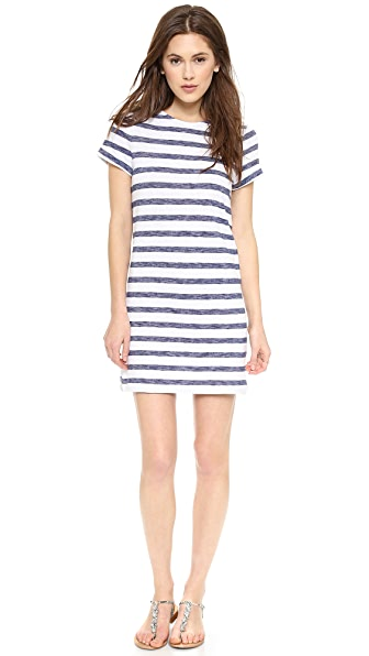 alice + olivia Stephan Stripe Dress