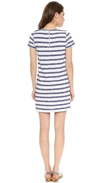 alice + olivia Stephan Stripe Dress