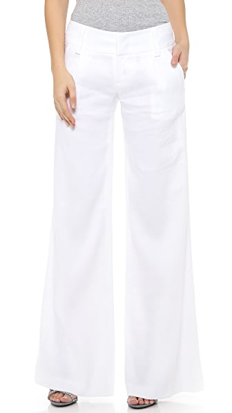 Alice + Olivia Eric Pants - White